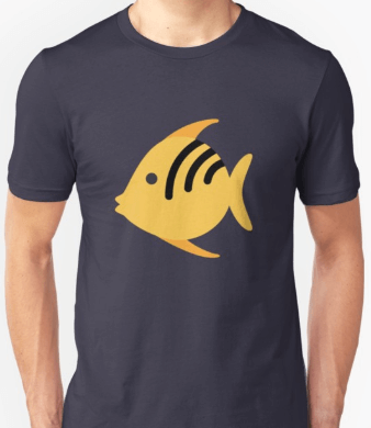 Angel fish shirt